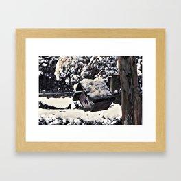 Snow Bird Resort Framed Art Print