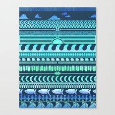 Beach | Tribal Canvas Print
