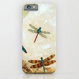 Zen Flight - Dragonfly Art By Sharon Cummings iPhone Case