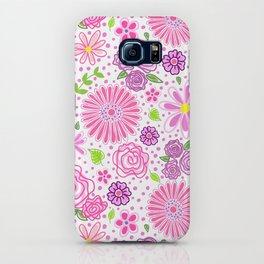 Happy Spring Flowers iPhone Case