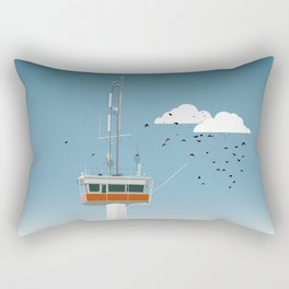 The Falsterbo channel Rectangular Pillow