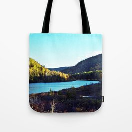 River to Wilderness Tote Bag