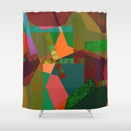 MOTLEY N1 Shower Curtain