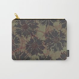 Batik Poppies Carry-All Pouch