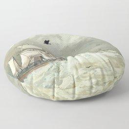 Breaking Waves Floor Pillow