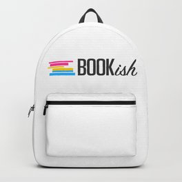 Pansexual, Bookish, and Proud Backpack