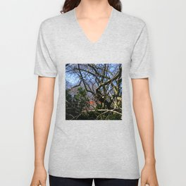 "NYC - Central Park - with ""The Gates"" 2005 Unisex V-Neck"