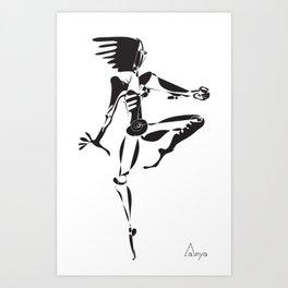 Sense of Dance Art Print