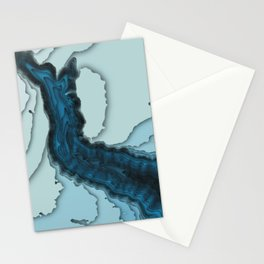 Hudson Canyon Color Shift 3D Stationery Cards