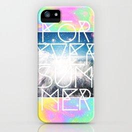 Forever Summer iPhone Case