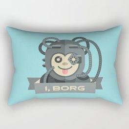 I, Borg Rectangular Pillow