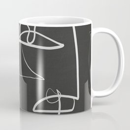 Abstract line art 12/2 Coffee Mug