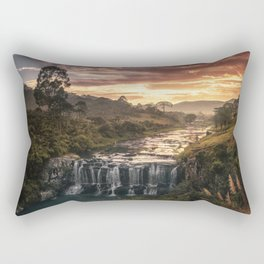 Fire & Water Rectangular Pillow