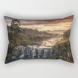 Fire & Water Rectangular Pillow