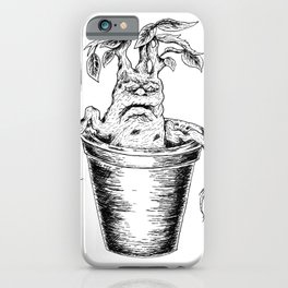 Potterhead Magical Mandrake Root iPhone Case