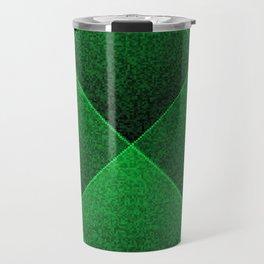Plush Kelly Green Diamond Travel Mug