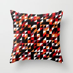 Sumi Retro Quilt Throw Pillow