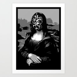 Blank generation Art Print