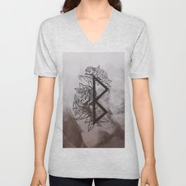 Growth Rune Unisex V-Neck