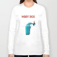 moby Long Sleeve T-shirts featuring moby  by mark ashkenazi