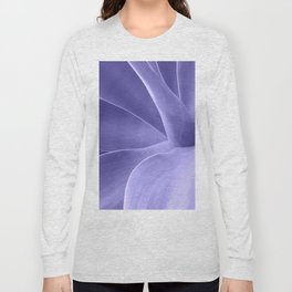 Periwinkle Succulent Long Sleeve T-shirt