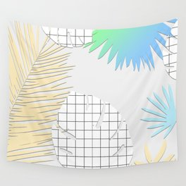 Palm Leaves Pattern 004 Wall Tapestry