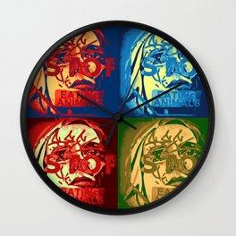 Veggie Pamphlet Wall Clock