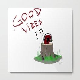Dp's Good Vibes Metal Print