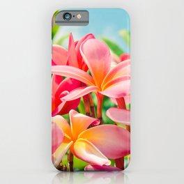 Pua Melia ke Aloha Maui iPhone Case