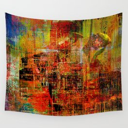 Quartier de Belleville 1925 Wall Tapestry
