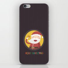 Day 24/25 Advent - Santa's Cookie iPhone & iPod Skin