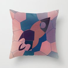 Le voyage Throw Pillow