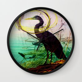 The crane series Wall Clock