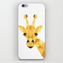 a giraffe iPhone Skin