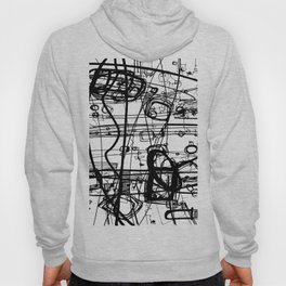 Doodle Love 4A by kathy Morton Stanion Hoody