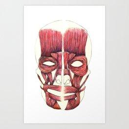 Half Smile  Art Print