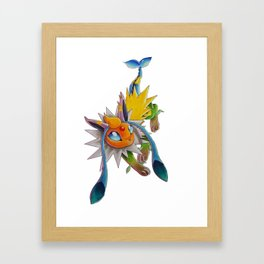 Chymereon— Eeveelutions Mashup Framed Art Print