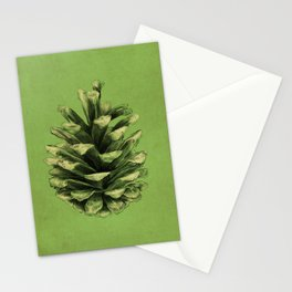 Pine Cone Stationery Cards