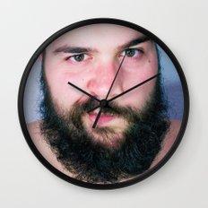 Bearded Wall Clock