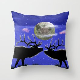 Kindred spirits Throw Pillow