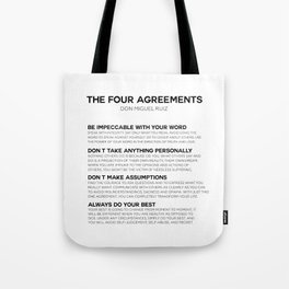 the four agreements Umhängetasche