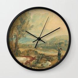 "J.M.W. Turner ""Lulworth Castle, Dorset"" Wall Clock"