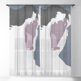 Roar Sheer Curtain