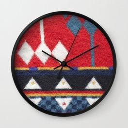 Textile Texture 04 Wall Clock