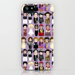 Kokeshis Women in the History iPhone Case