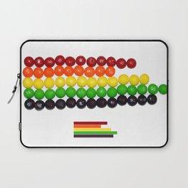 Skittle Stats Laptop Sleeve