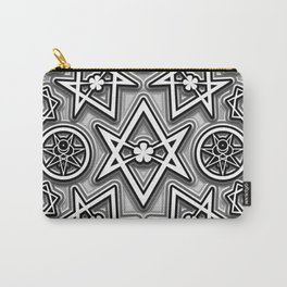 Bevels and Mirrors Carry-All Pouch