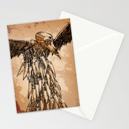 KNIFE VULTURE Stationery Cards