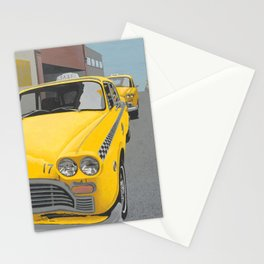 Taxi Stand version 2 Stationery Cards