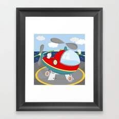 HELICOPTER (AERIAL VEHICLES) Framed Art Print